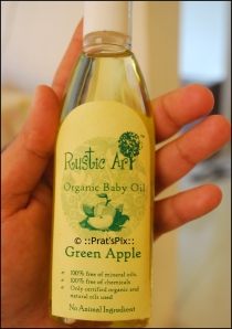 Green Apple Baby Oil by Rustic Art