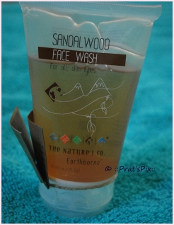 Sandalwood Face Wash by The Nature's Co