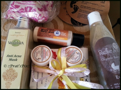 The products I ordered