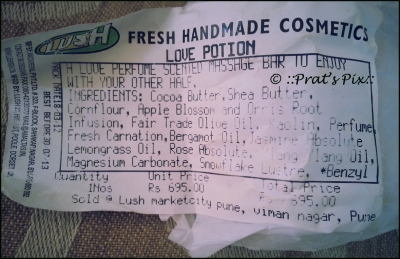 The Ingredient List