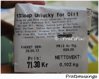 13 Unlucky for Dirt - Lush