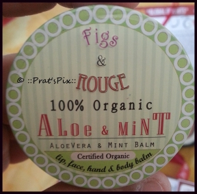 Aloe and Mint lip balm