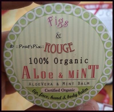 Aloe and Mint lip balm