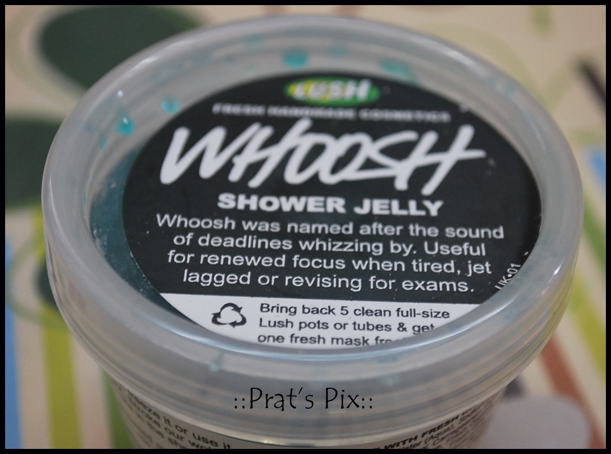 Whoosh Shower Jelly By Lush Pratsmusings