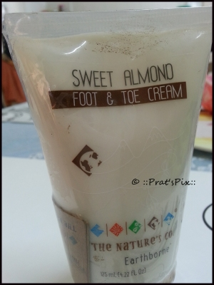 Sweet almond Foot and Toe Cream