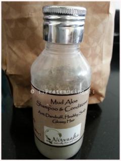 Nirvaaha Mud Aloe Shampoo and Conditioner