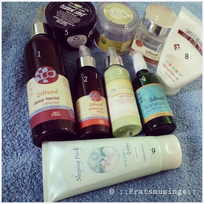The July Empties